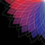 Fond abstrait de spectre de couleur Images stock