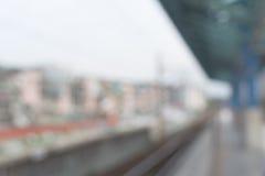 Fond abstrait de station Image libre de droits