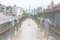 Fond abstrait de station Photographie stock