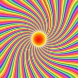 Fond abstrait de sunrays Image stock
