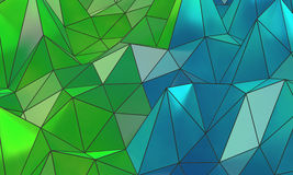 Fond abstrait de surface de wireframe Image stock
