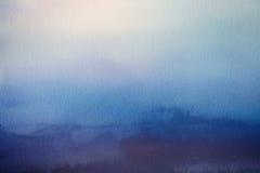 Fond abstrait de tache floue Recouvrement de papier d'aquarelle Images libres de droits