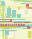 Fond abstrait de technologie. illustration stock