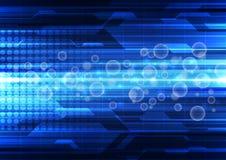 Fond abstrait de technologie de vecteur, illustration Photo libre de droits