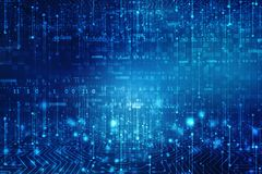 Fond abstrait de technologie, fond futuriste, concept de cyberespace