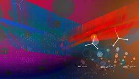 Fond abstrait de technologie - illustration courante d'image illustration stock
