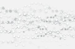 Fond abstrait de technologie Interface futuriste de technologie illustration de vecteur