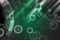 Fond abstrait de technologie Interface futuriste de technologie Image libre de droits