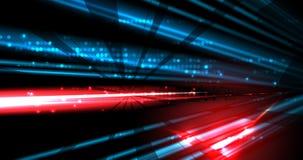 Fond abstrait de technologie Interface futuriste de technologie Vecto Images stock