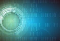 Fond abstrait de technologie Interface futuriste de technologie Vecto Photo libre de droits