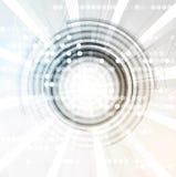 Fond abstrait de technologie Interface futuriste de technologie Vecto Image stock