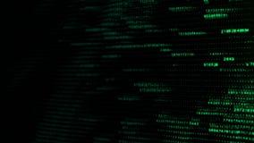Fond abstrait de technologie numérique avec des données, le compte et des nombres