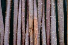 Fond abstrait de texture de bâtons en bois Photos libres de droits