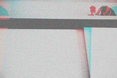 Fond abstrait de texture de photocopie, double exposition de couleur, Gl image stock