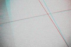 Fond abstrait de texture de photocopie, double exposition de couleur, Gl images stock