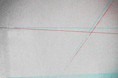 Fond abstrait de texture de photocopie, double exposition de couleur, Gl photos stock