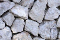 Fond abstrait de texture rocheuse de mur Photographie stock libre de droits