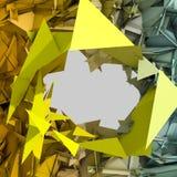 Fond abstrait de triangle Photos stock