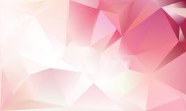Fond abstrait de triangle Photo stock