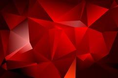 Fond abstrait de triangle Photos libres de droits