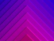 Fond abstrait de triangles de gradient canette illustration de vecteur