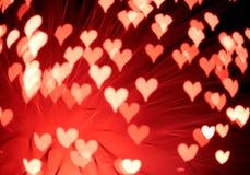 Fond abstrait de valentine de rue Image libre de droits