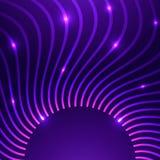 Fond abstrait de vecteur avec des courbes illustration libre de droits