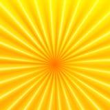 Fond abstrait de vecteur avec des rayons Images stock