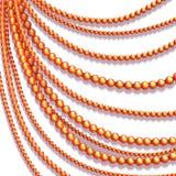 Fond abstrait de vecteur avec les perles colorées Photographie stock