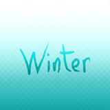 Fond abstrait de vecteur Couleurs d'hiver Photo libre de droits