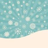 fond abstrait de vecteur d'hiver Images stock