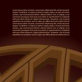 Fond abstrait de vecteur dans des tons bruns Photographie stock libre de droits