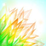 Fond abstrait de vecteur de flore Photographie stock libre de droits