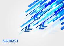 Fond abstrait de vecteur de lignes droites Images libres de droits