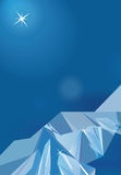 Fond abstrait de vecteur de triangle. Photographie stock