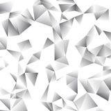 Fond abstrait de vecteur de triangle Photos libres de droits