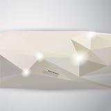 Fond abstrait de vecteur. Modèle polygonal Images libres de droits