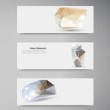 Fond abstrait de vecteur. Modèle polygonal Photo stock