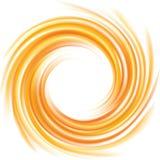 Fond abstrait de vecteur Vue de la surface de fluide de boucle Images libres de droits
