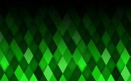 Fond abstrait de vert de losange Illustration de vecteur Image stock