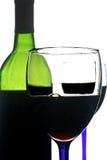 Fond abstrait de vin Photo stock