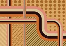 Fond abstrait de vintage Image libre de droits
