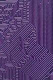 Fond abstrait de violette d'ordinateur électronique Images stock