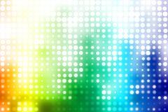 Fond abstrait dernier cri de disco colorée de réception Image libre de droits