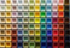 Fond abstrait des éléments colorés Image libre de droits