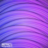 Fond abstrait des bandes horizontales colorées Image libre de droits