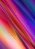 Fond abstrait des bandes onduleuses la chute sous l'angle Images stock