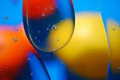 Fond abstrait des bulles colorées Photo libre de droits