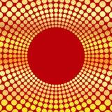Fond abstrait des cercles Images stock