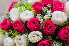 Fond abstrait des fleurs en gros plan Photographie stock libre de droits